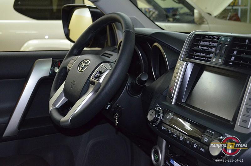 Авторская защита от угона на Toyota LC150