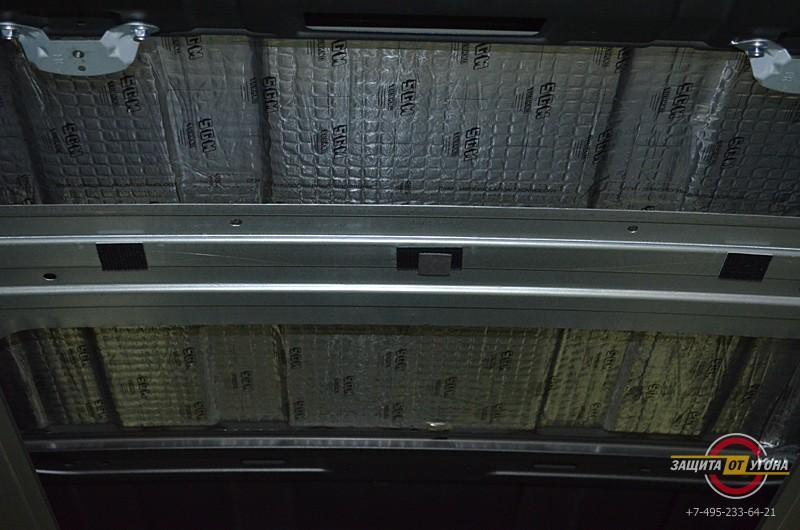 Полная шумоизоляция Nissan XTrail