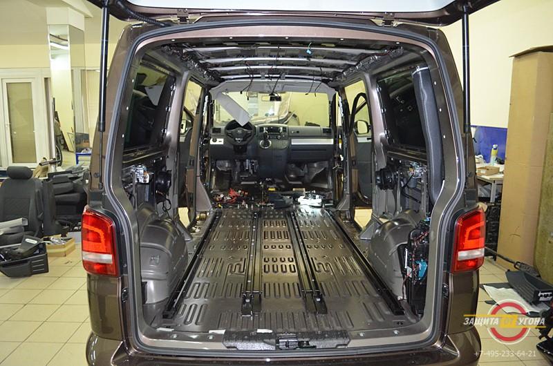 Полная шумоизоляция VW Multivan
