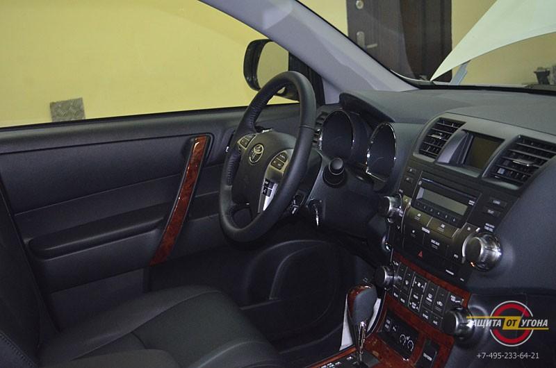 Авторская защита от угона на Toyota Highlander