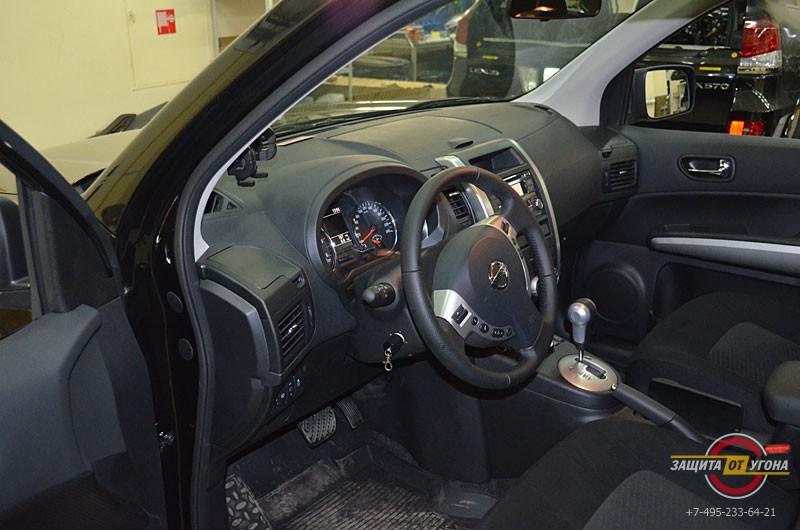 Авторская защита от угона на Nissan XTrail