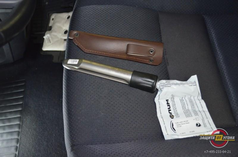 Блокиратор руля Гарант Блок Люкс на Honda CRV