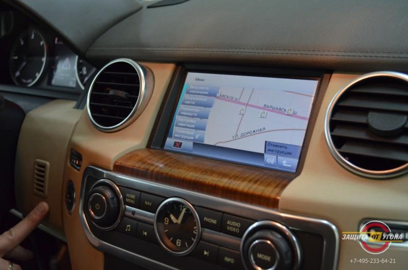 Навигация с пробками на Landrover Freelander 2011