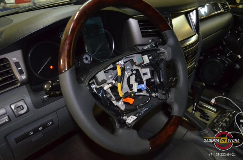 Перешив руля на Lexus LX570