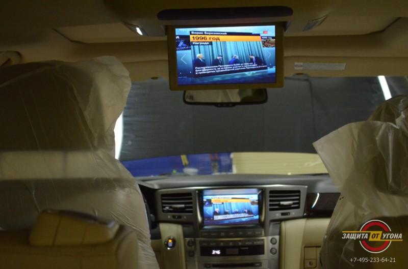 ТВ тюнер на Lexus LX 570