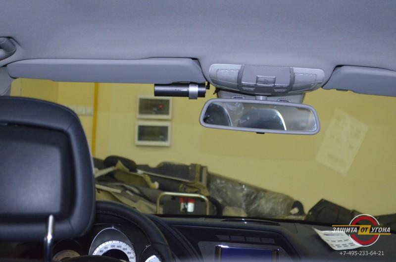 Установка Blackvue на Mercedes GLK