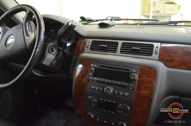 Установка мультимедиа Phantom на Chevrolet Tahoe 2012