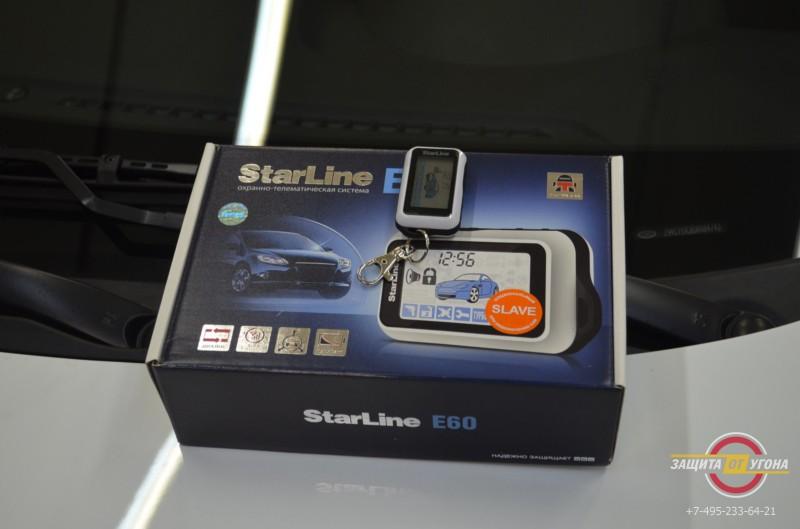 Установка сигнализации Starline E60 на Hyundai Solaris