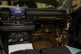 Установка активных антенн в Audi A8L