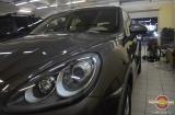 Восстановительная полировка и обработка кузова Ceramic Pro на Porsche Cayenne