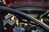 Перетяжка алькантарой потолка Mercedes GLE 350