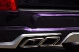 Установка аэродинамического обвеса Double Eight на Lexus LX450D