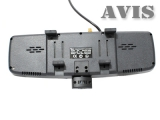 Зеркало заднего вида со встроенным видеорегистратором и GPS навигатором AVIS AVS0491BM