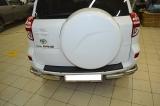 Металлический обвес на Toyota RAV4