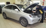 Установка Призрак 840 на Lexus RX 350