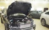 Установка ходовых огней в фары Volvo XC 90