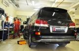 Улиление защиты Lexus LX570 с помощью Призрака 830
