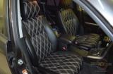 Перешив салона эко-кожей на Suzuki