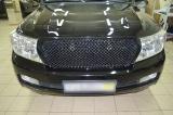 Решетка радиатора в стиле Bentley на Toyota LC 200