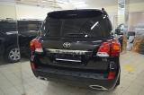 Задний бампер Khann на Toyota LC 200