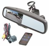 Зеркало заднего вида с двухканальным видеорегистратором DVR-Mirror