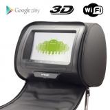 Комплект мониторов в подголовники Incar с диагональю 7'' (Android)